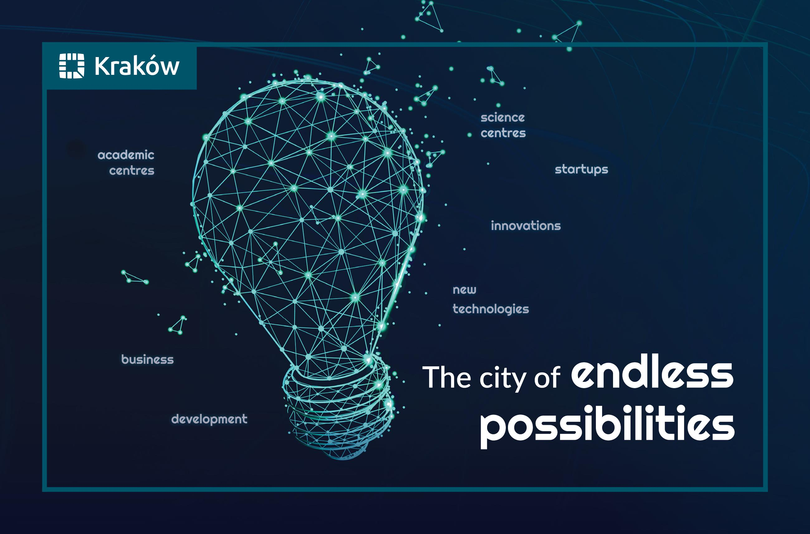 Cracow - the city of endless possibilities banner